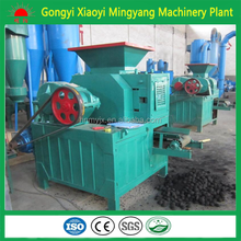 Hot sale in Europe Widely used in BBQ boiler market coconut shell charcoal powder ball briquette making machine +8613838391770