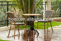 Bamboo outdoor furniture design