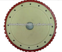 "14"" Diamond milling grinding plate disc with silent type"