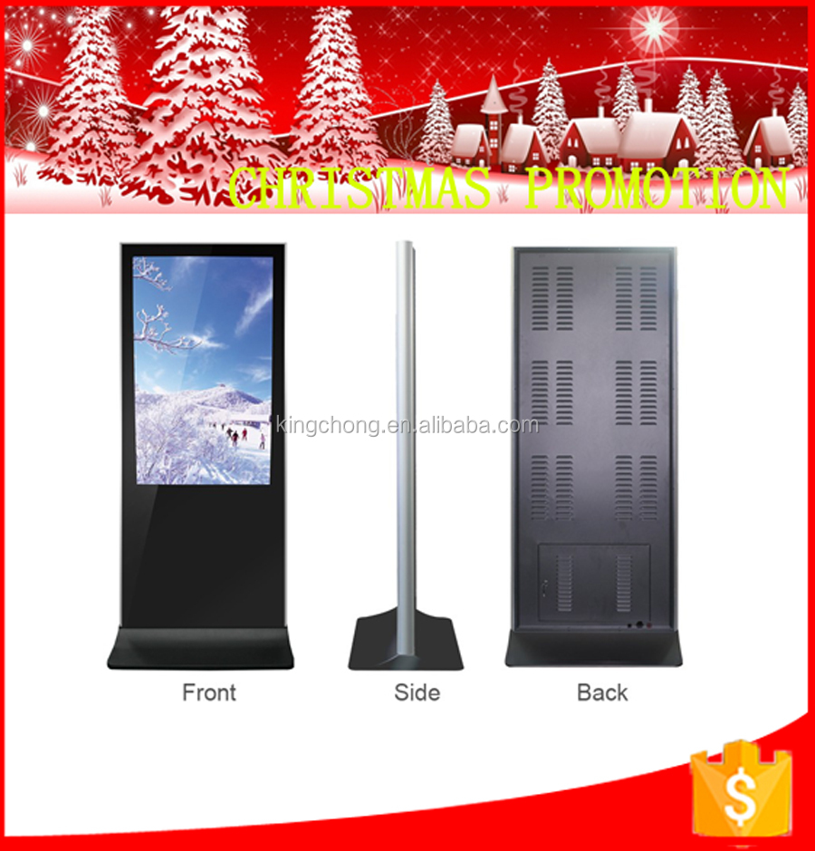 "New ultral slim iphone type 43'' 55'' 65""indoor full HD BMW 4s shop advertising digital signage dipplay"