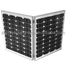 Small Size and Monocrystalline Silicon Material 120w portable folding solar panel kit