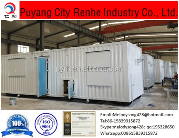 Durable portable house/20 foot container price/pre-made container house