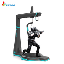 9D virtual reality arcade game machine shooting motion simulator HTC vive 360 degree vr walk