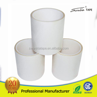 China manufacturer wholesale price hear resistant transparent double side PET tape