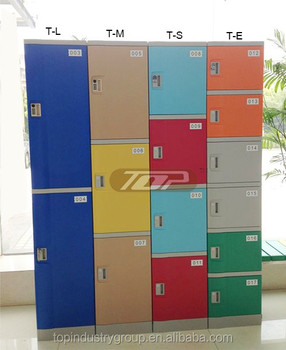 compartment ABS plastic locker