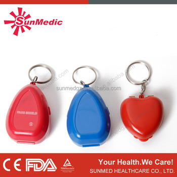 Hot Sale Resuscitation Mask with Key Ring