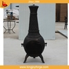 High quality bronze custom garden clay chimineas