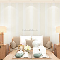 Plain coloured pvc wallpaper