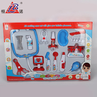 New brand of doctor play set doctor medical kit cart toy