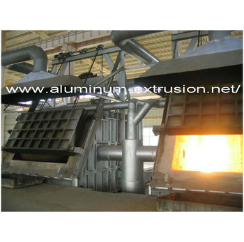 Regenerative 10T ~ 50T Aluminum Melting Furnace Casting Billet hot top air slip caster bar regeneration