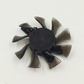 80mm graphics card fan crystal frameless fan