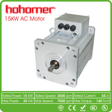 High power 15kw 3 phase induction AC motor for electric car conversion kit