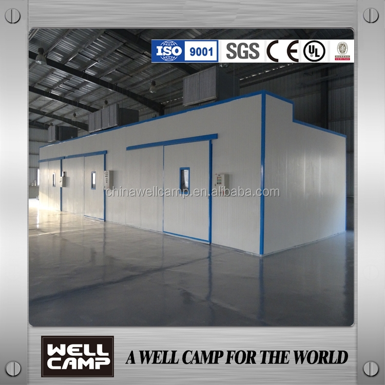 Low cost prefab house plan design WELLCAMP factory supply