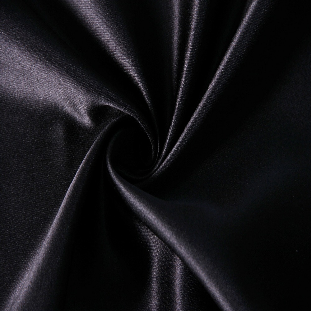 China supplier satin fabric market 100 polyester fabric dull satin