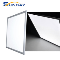 595x595 595x595mm 60w dimmable recessed led panel size customized