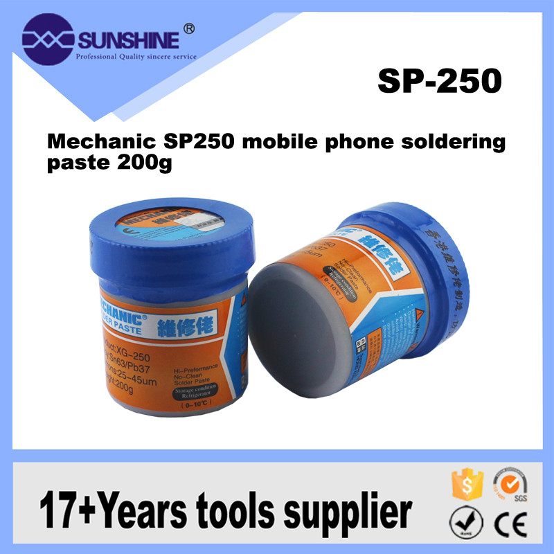 MECHANIC Professional Mobile Phone Solder Paste Sn63Pb37