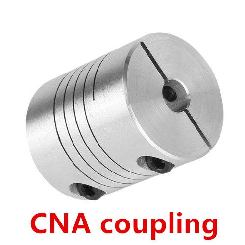 3pcs 10 x 10mm Flexible Shaft Coupling Stepper Motor Coupler Connector D25 L30