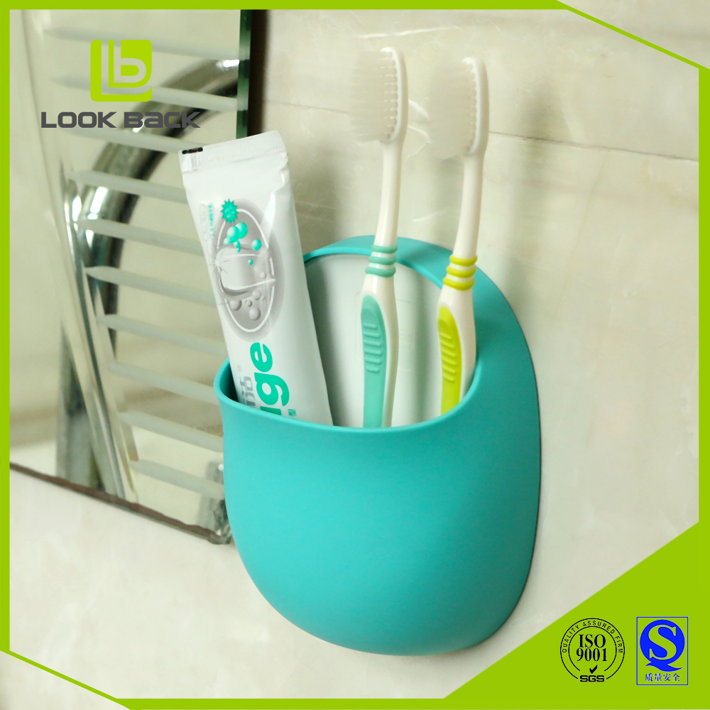 christmas plastic wall mount organizer toothbrush holder