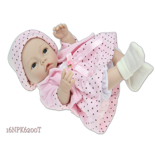 Stylish 2014 new season design real baby vinyl craft dolls