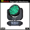 Good washing effects 91*3w zoom led RGBW wash moving head light