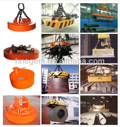 Suspended Magnetic Separator for Conveyor Belts