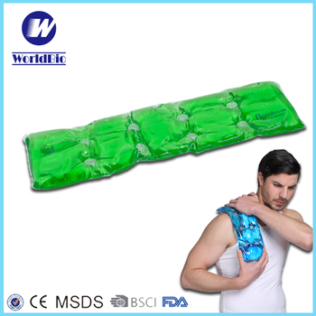 Reusable gel heating pad with bag for your body
