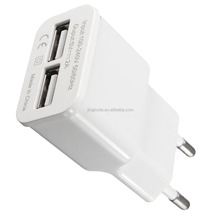 US/UK/EU Plug 5V 2.1A Dual USB Wall charger/Car Charger Adapter 2-Port For Samsung Phone