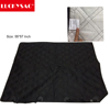 Supply dog car seat cover to be black, quilted, 3 layer with the pvc dot non- slip backing