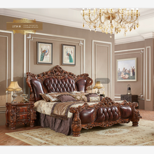 new classic bedroom <strong>furniture</strong>, gold color king bed