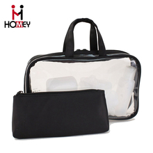 2016 new product ex-factory price wholesale custom fashion travel new design pvc beach cosmetic bag