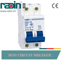 High Quality 2P MCB 200A Miniature Circuit Breaker, 2 Pole Contactor