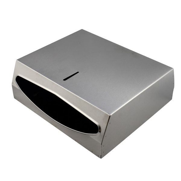 BRUSHED STAINLESS STEEL PAPER DISPENSERS
