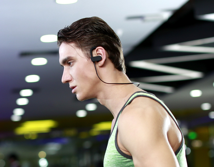Bluetooth earphone private label sport running bluetooth headphone wireless for mobiles