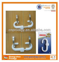 ABS material child door lock plastic door latch types