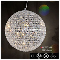 latest chinese product crystal hanging pendant lights over island