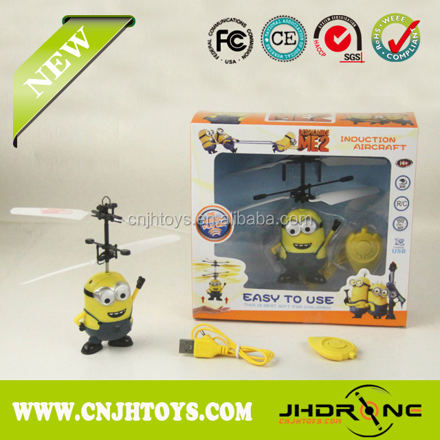 Flying Mini Rc Toy Ufo mini flyer ufo, interaction mini flyer,rc ufo despicable Me 2 toys