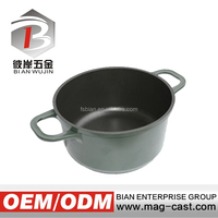 Teflon coating aluminum die casting non-stick clay cooking pot