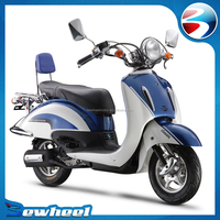 Bewheel 2016 hot sale vespa 125cc gas scooter for adults