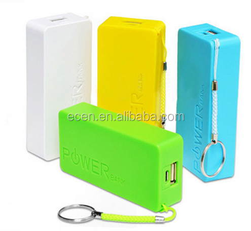 ABS 18650 Mobile Power Bank Charger for promotion gifts