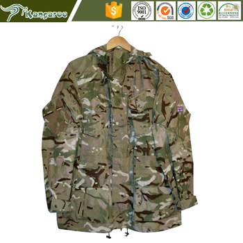 UK Soldier's Combat Multi Terraine Pattern Army Camouflage Jacket