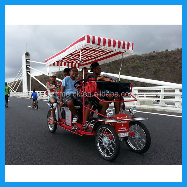 "18"" Steel Pedal Leisure Four Wheeled Quadricycle Bike"