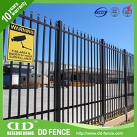 Quality Steel Fencing And Gates Decorative Metal Garden Fencing Wrought Iron Fence Panels Price