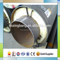 high temperature boiler steam pipe calcium silicate insulation cover seamless steel pipe