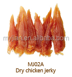 chicken breast dry chicken jerky MJ02A freeze dried beef