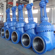Gear Operated metal seat Gate Valve