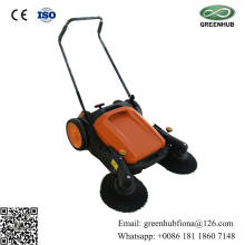 Electric hand push type floor sweeper