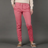 High Quality Ladies Chino Pant, Top Quality Ladies Trousers and Pants