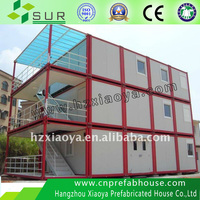 Low Cost ISO9001 China modern prefab hotel