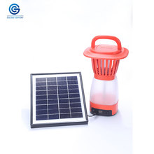 Portable mini solar camping Lantern rechargeable LED camping lantern with Multi-Function mosquito killer