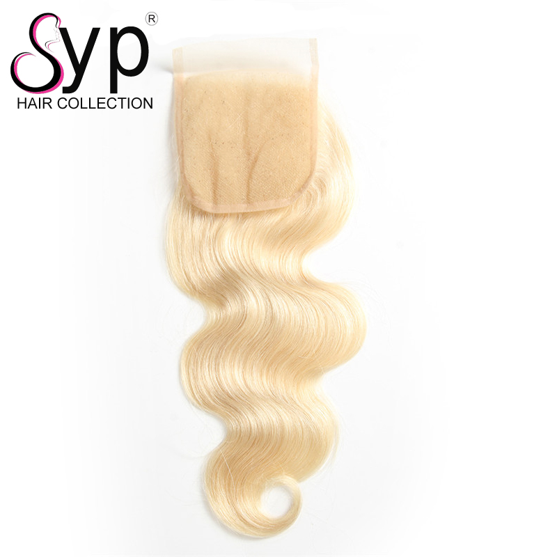 Original Brazilian Natural Blonde Human Hair Products Distributors Of 4x4 Lace Closure Piece